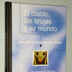 Libros de segunda mano: EL DIABLO, LAS BRUJAS Y SU MUNDO. HOMENAJE ANDALUZ A JULIO CARO BAROJA.. Lote 166068782