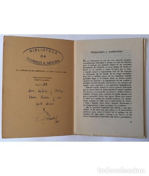 Libros de segunda mano: INDIGENISMO Y MODERNISMO - Foto 2 - 166091446