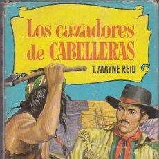 Libros de segunda mano: LIBRO COLECCION HISTORIAS LOS CAZADORES DE CABELLERAS EDITORIAL BRUGUERA . Lote 166141842