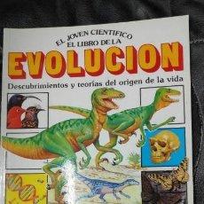 Libros de segunda mano: EL JOVEN CIENTIFICO EL LIBRO DE LA EVOLUCION EDICIONES PLESA . Lote 166158438