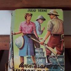 Libros de segunda mano: AVENTURAS DE LA MISION BARSAC, ED.MATEU, 1960, CON CONTRAPORTADA, TAL CUAL SE VE.. Lote 166161790