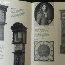 Libros de segunda mano: THE PLAIN MAN´S GUIDE TO ANTIQUE CLOCKS. W.F. BENTLEY. LONDON 1963.. Lote 166179090
