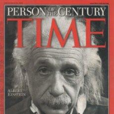 Libros de segunda mano: TIME: PERSON OF THE CENTURY. ALBERT EINSTEIN. VV.AA.. Lote 166235610