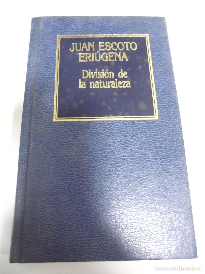 DIVISION DE LA NATURALEZA. JUAN ESCOTO ERIUGENA. Nº 64. EDICIONES ORBIS. 158 PAGINAS (Libros de Segunda Mano - Pensamiento - Otros)