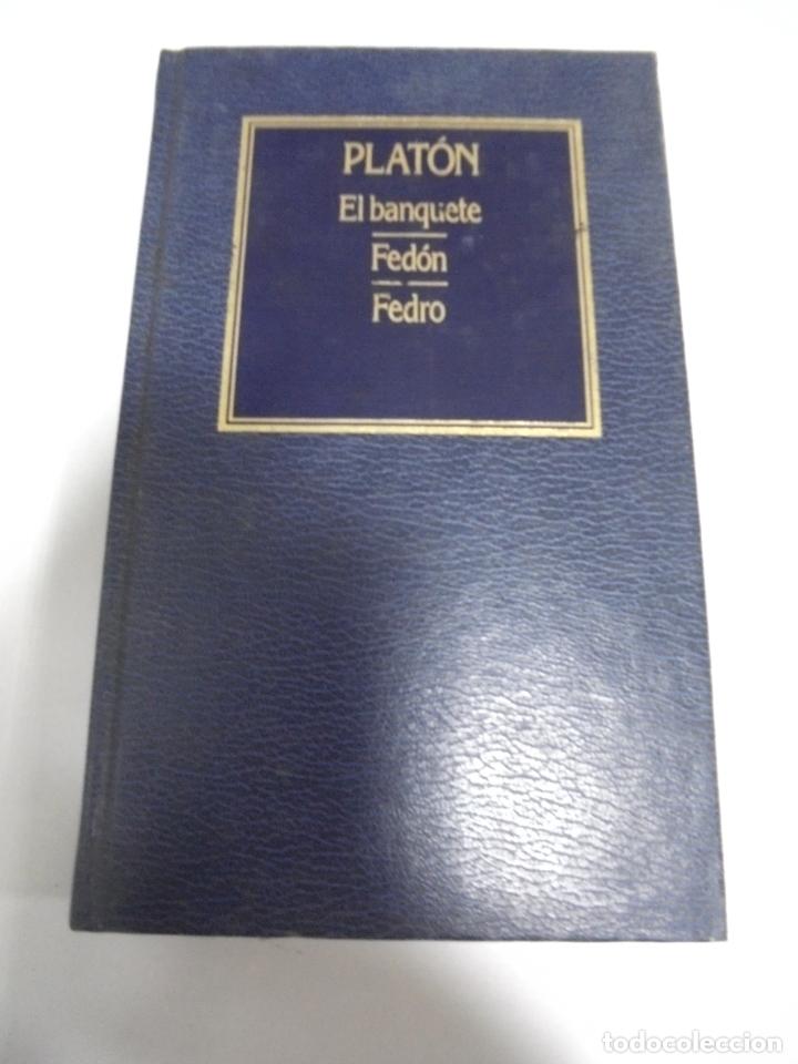EL BANQUETE / FEDON / FEDRO. PLANTON. Nº 3. EDICIONES ORBIS. 373 PAGINAS (Libros de Segunda Mano - Pensamiento - Otros)