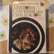 Libros de segunda mano: HISTORIA UNIVERSAL DE LA CIVILIZACIÓN. RICARDO VERA TORNELL. ED. RAMÓN SOPENA TOMO 1. Lote 166357270
