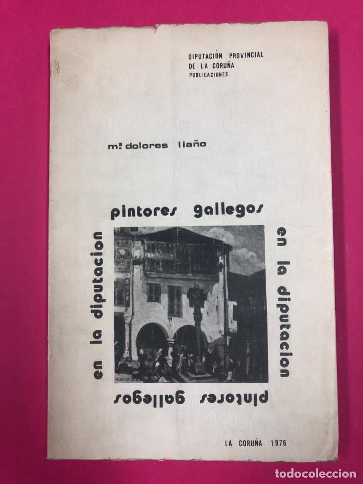 PINTORES GALLEGOS EN LA DIPUTACIÓN MARÍA DE LOS DOLORES LIAÑO 1976 (Libros de Segunda Mano - Bellas artes, ocio y coleccionismo - Otros)
