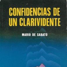 Libros de segunda mano: CONFIDENCIAS DE UN CLARIVIDENTE. CO.. Lote 166460414