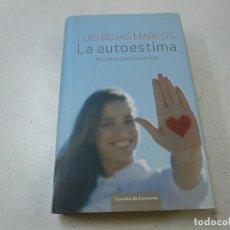 Libros de segunda mano: LA AUTOESTIMA - LUIS ROJAS MARCOS -N 3. Lote 166516242