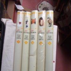 Libros de segunda mano: NOSOTROS LOS VASCOS JULIO CARO BAROJA 5 TOMOS . Lote 166527922