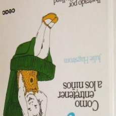Libros de segunda mano: JUGOS DE VIAJE COMO ENTRETENER A LOS NIÑOS - STALLAND HAGSTROM - SIN USAR - ENVIO GRATIS. Lote 166546990