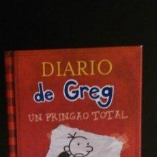 Libros de segunda mano: DIARIO DE GREG - UN PRINGAO TOTAL. Lote 166556622