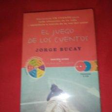 Livres d'occasion: JORGE BUCAY, EL JUEGO DE LOS CUENTOS AUDIO LOBRO 5 CDS. Lote 166573982