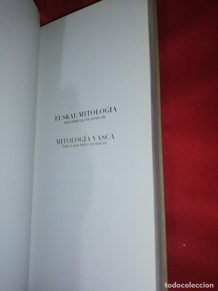 Libros de segunda mano: Euskal mitologia / mitologia vasca, todo lp que tiene nombre es - Foto 4 - 166581142