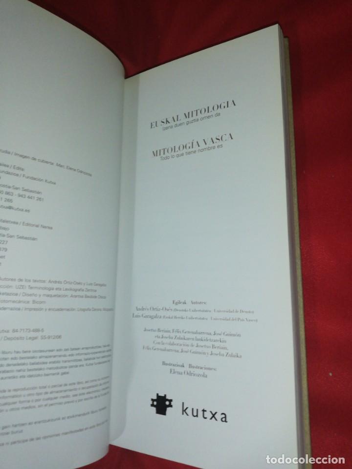 Libros de segunda mano: Euskal mitologia / mitologia vasca, todo lp que tiene nombre es - Foto 5 - 166581142
