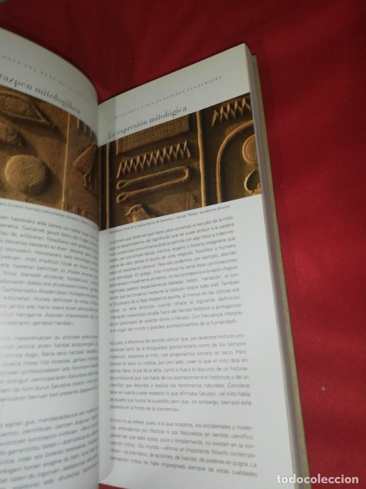 Libros de segunda mano: Euskal mitologia / mitologia vasca, todo lp que tiene nombre es - Foto 6 - 166581142