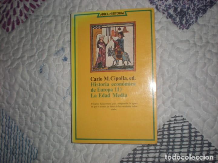 HISTORIA ECONÓMICA DE EUROPA 1.LA EDAD MEDIA:CARLO M.CIPOLLA;ARIEL 1979 (Libros de Segunda Mano - Historia - Otros)