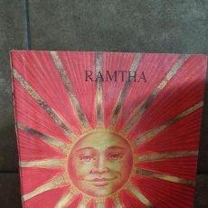 Libros de segunda mano: RAMTHA ENSEÑANZAS SELECTAS, ED. SIN LIMITES. Lote 166707590