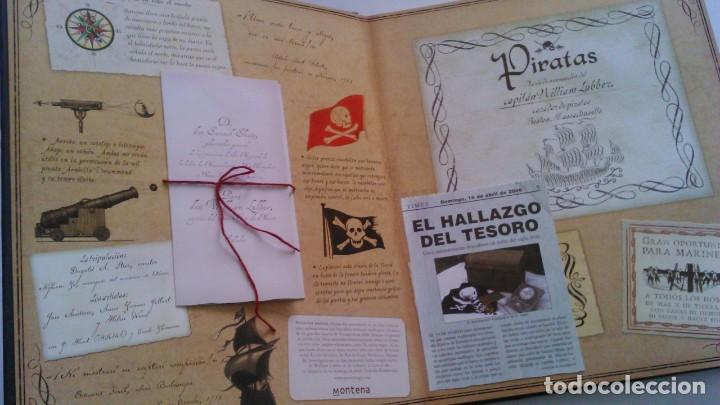 Libros de segunda mano: Piratas - Diario de navegación del capitán William Lubbez - Montena - Fotos Adicionales - Foto 3 - 166740980