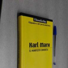 Libros de segunda mano: EL MANIFIESTO COMUNISTA / KARL MARX / GLOBUS 2011. Lote 166751398