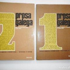 Libros de segunda mano: PROSA GALEGA(2 TOMOS) Y94353 . Lote 166771866