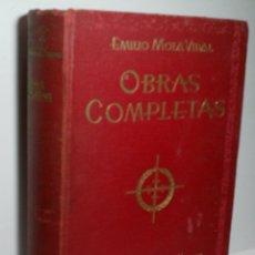 Libros de segunda mano: OBRAS COMPLETAS DE EMILIO MOLA VIDAL. 1940. Lote 166794166