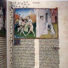 Libros de segunda mano: DECAMERÓN DE BOCACCIO (S. XIV), ¡MÁS DE 100 MINIATURAS FACSÍMILES!. Lote 177272084