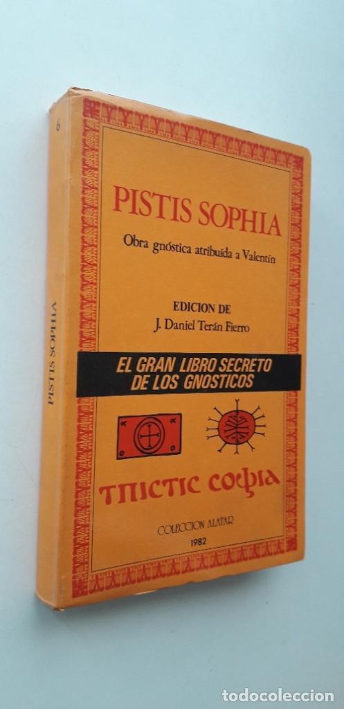 Libros de segunda mano: PISTIS SOPHIA, EL GRAN LIBRO SECRETO DE LOS GNOSTICOS - OBRA ATRIBUIDA A VALENTIN - Foto 2 - 166846138