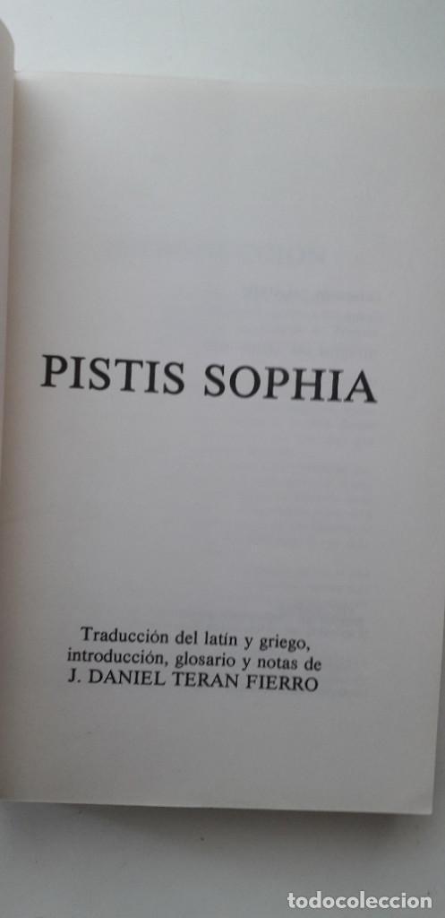 Libros de segunda mano: PISTIS SOPHIA, EL GRAN LIBRO SECRETO DE LOS GNOSTICOS - OBRA ATRIBUIDA A VALENTIN - Foto 4 - 166846138