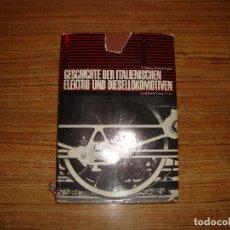 Libros de segunda mano: (TC-202/19) LIBRO TEMA TRENES FERROCARRILES GESCHICHTE DER ITALIENISCHEN ELEKTRO UND DIESELLOKOMOTIV. Lote 166854722
