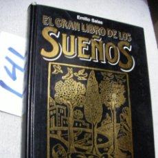 Libros de segunda mano: EL GRAN LIBRO DE LOS SUEÑOS. Lote 166905360