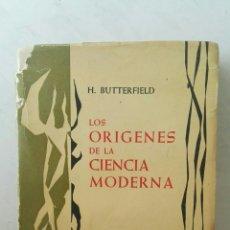 Libros de segunda mano: LOS ORÍGENES DE LA CIENCIA MODERNA. Lote 166991690