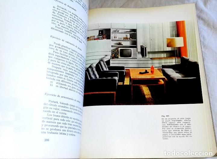 Libros de segunda mano: El Dibujo En La Decoración - Ediciones CEAC 1969 - Foto 4 - 166996132