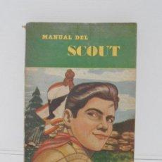 Libros de segunda mano: LIBRO, MANUAL DEL SCOUT, CESAR MACAZAGA, EDITORIAL ESCULTISMO, 1953 MEXICO. Lote 167045244