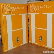 Libros de segunda mano: ATLAS CRONOLÓGICO DE LA HISTORIA DE ESPAÑA. REAL ACADEMIA DE LA HISTORIA. EDICONES SM. 2008. . Lote 167072248