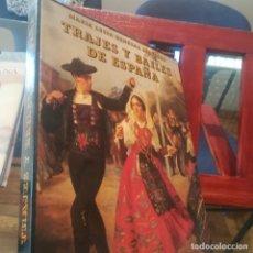 Libros de segunda mano: TRAJES Y BAILES DE ESPAÑA-MARIA LUISA HERRERA-EDIT. EVEREST-1984 -CON CAJETIN-EXCELENTE. Lote 167097448