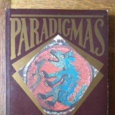 Libros de segunda mano: PARADIGMAS- MITOS, ENIGMAS Y LEYENDAS CONTEMPORANEAS: EL VUDU, PALENQUE, PAPISA JUANA, DIOSES NEGROS. Lote 167099484