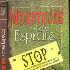 Libros de segunda mano: AHMET ZAPPA : MONSTRUOS Y OTRAS ESPECIES (MONTENA, 2007). Lote 167107796