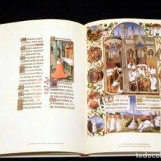 Libros de segunda mano: LAS MUY RICAS HORAS DEL DUQUE DE BERRY (FACSÍMIL). Lote 211630234