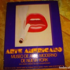 Libros de segunda mano: ARTE AMERICANO. MUSEO DE ARTE MODERNO DE NUEVA YORK. MADRID, 1979. Lote 167163172