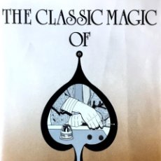 Libros de segunda mano: THE CLASSIC MAGIC OF LARRY JENNINGS. MIKE MAXWELL.. Lote 167181100