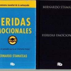Libros de segunda mano: HERIDAS EMOCIONALES - BERNARDO STAMATEAS - AUTOAYUDA - EDICIONES B 2014. Lote 167430104