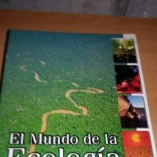 Libros de segunda mano: EL MUNDO DE LA ECOLOGÍA. ED. OCEANO. SIN CD.. Lote 167501457