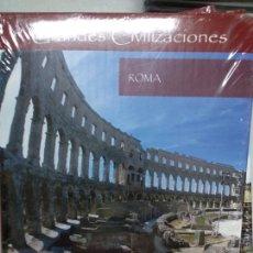 Libros de segunda mano: AUPPER EDICION . ROMA GRANDES CIVILIZACIONES. NUEVO PRECINTADO. Lote 167513888