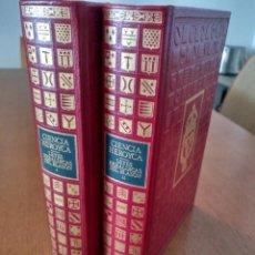 Libros de segunda mano: EDICIÓN FACSIMILAR DE CIENCIA HEROYCA REDUCIDA A LAS LEYES HERÁLDICAS DEL BLASÓN POR EL M. DE AVILÉS. Lote 167582168