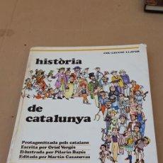 Libros de segunda mano: HISTORIA DE CATALUNYA - PROTAGONITZADA PELS CATALANS -BARCELONA - 1975.. Lote 167607212