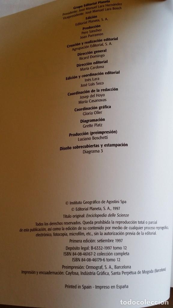 Libros de segunda mano: Enciclopedia CIENCIAS DE LA NATURALEZA de PLANETA / completa - Foto 2 - 167663820