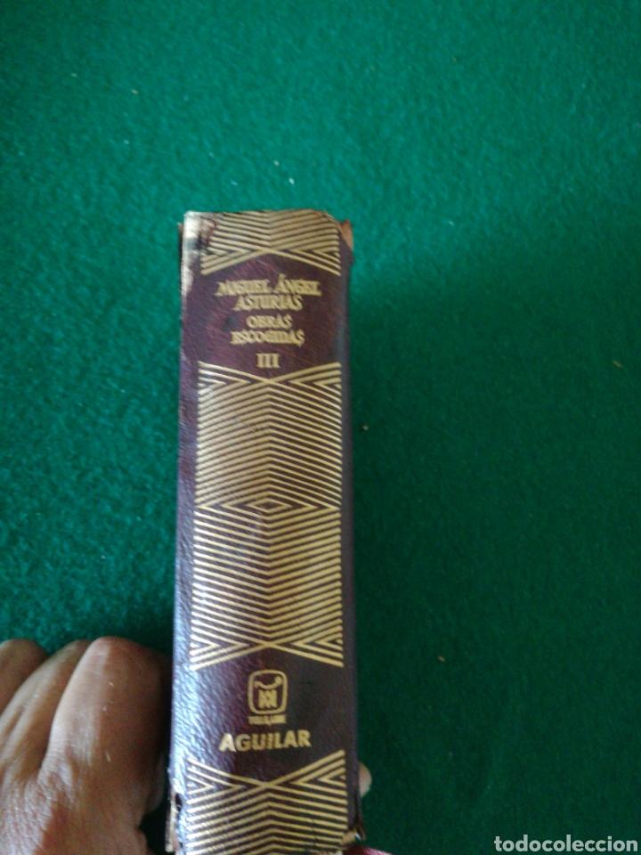 OBRAS ESCOJIDAS MIGUEL ÁNGEL ASTURIAS (Libros de Segunda Mano (posteriores a 1936) - Literatura - Otros)