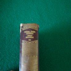 Libros de segunda mano: OBRAS ESCOJIDAS MIGUEL ÁNGEL ASTURIAS. Lote 167672432