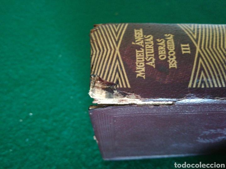 Libros de segunda mano: OBRAS ESCOJIDAS MIGUEL ÁNGEL ASTURIAS - Foto 2 - 167672432